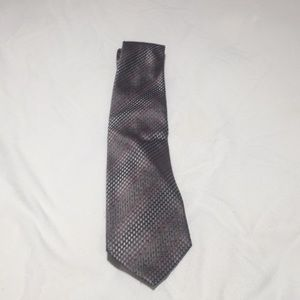 Men's Tie Rectangle and dot is pattern